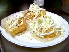 La Fondita Fish Tacos Recipe : Food Network - FoodNetwork.com