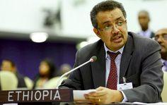 Tedros ADHANOM GHEBREYESUS prend les rênes de l'OMS: L'Ethiopien Tedros ADHANOM GHEBREYESUS a été élu ce 23 mai 2017 à la tête de… #Team237