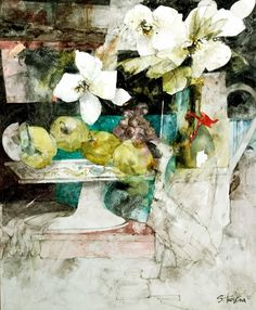Shirley Trevena RI – Royal Institute of Painters in Water Colours Watercolor Artists, Abstract Watercolor, Watercolor Flowers, Watercolor Paintings, Watercolor Portraits, Watercolor Landscape, Abstract Paintings, Watercolour, Art Floral