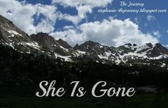 She is Gone ~ Poem by David Harkins ~ And my dedication to my mom, mom-in-love, and grandma.  slp