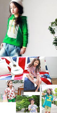 Kid's Zip-Up Jacket / Sweatshirt / Raglan [HARA] 11Street #childrenwear #fashion #style