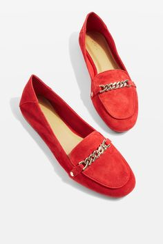 LOCO Chain Trim Loafers - New In Fashion - New In - Topshop Europe