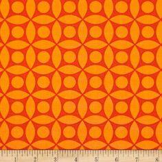 Amazon.com: Michael Miller Technicolor Tile Persimmon Fabric: Arts, Crafts & Sewing
