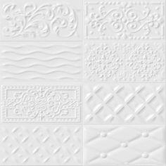 VIVES Azulejos y Gres - Wall tiles red body ceramic heritage effect tiles Mugat - rivoli White Tile Backsplash, Wall Tiles, Subway Tiles, Unique Tile, Tap Room, Cabinet Decor, Stone Tiles, Tile Design, Scrappy Quilts