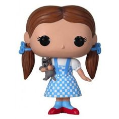 Dorothy Funko Doll - Fans of The Wizard of Oz will adore setting off on their own yellow brick road adventure with this cute doll.