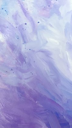 Purple Paint Strokes iPhone 6 Wallpaper