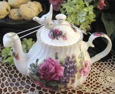 Bird Teapot Drip Catcher
