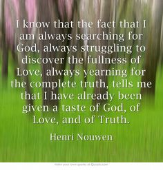 Life of the Beloved by Henri Nouwen (page 44)