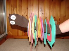 Foam/Flannel Prop Ideas for Retelling the Very Hungry Caterpillar (from Thrive After Three)