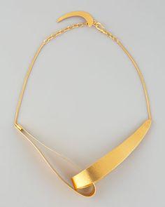 Virgules+Necklace+by+Herve+Van+Der+Straeten+at+Bergdorf+Goodman.
