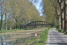 Our glorious Canal Latéral à la Garonne!  Notre magnifique Canal Latéral à la Garonne!