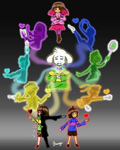 Glitchtale Souls by breezydreamer01