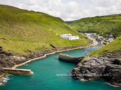 Boscastle - Cornwall. The town in which my Abrams name comes from.