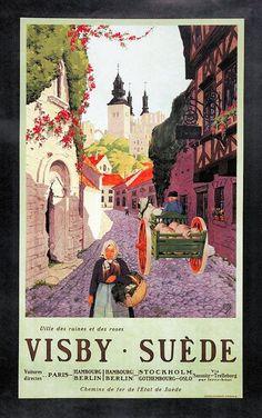#suécia #vintagead #travel
