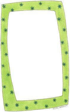Bordes para hojas infantiles - Imagenes y dibujos para imprimirTodo en imagenes y dibujos