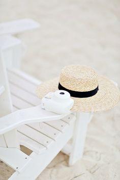 Instax Mini 8 on the beach | #instax #summer