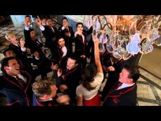 """glee: the Warblers singing """"Uptown Girl""""  Billy Joel's been outdone- never thought I'd see the day!"""