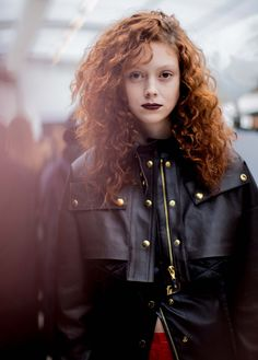 Natalie Westling at Louis Vuitton Fall 2016 backstage | Go Behind the Scenes at Paris Fashion Week With Photographer Kevin Tachman