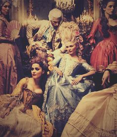 Marie Antoinette. Hate kirsten dunst but love this movie. I want my world to look like this.