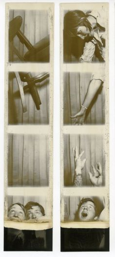 falling in the photobooth Animal Photography, Fine Art Photography, Portrait Photography, People Photography, Old Pictures, Old Photos, Vintage Magazine, Vintage Photo Booths, House Painter