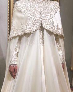 Muslim Wedding Gown, Muslim Wedding Dresses, Bridal Dresses, Wedding Gowns, Flower Girl Dresses, Wedding Headpiece Vintage, Turkish Wedding, Hijab Bride, Wedding Cape