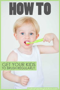 Tips to help the teeth brushing battle.