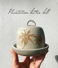 Handmade stoneware butter bell Butter Bell, Butter Dish, Stoneware, Ceramics, Dishes, Handmade, Ceramica, Pottery, Hand Made