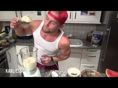 Selbst gemachtes Eis mit Bananen und Dattel ohne Fett und Zucker-Zusatz - KARL-ESS.COM
