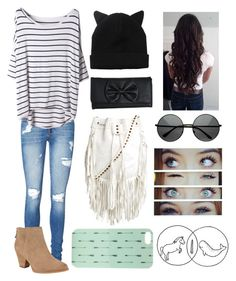 """""""//{Don't mess with my love. That heart is so cold. All over my home, I don't wanna know that babe}//"""" by love-life-live ❤ liked on Polyvore featuring Vero Moda, Splendid, Monki, Cleobella, Wet Seal, With Love From CA and ZeroUV"""