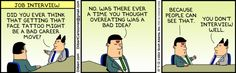 Dilbert comic strip for 10/05/2012 from the official Dilbert comic strips archive.