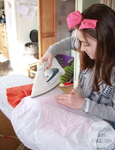 ragbags and gladrags - Made by the Sea: Teaching Children to Sew - or how my 10 year old made a dress.
