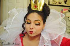 #Disney #Villains #makeup #QueenofHearts #FormidableArtistry
