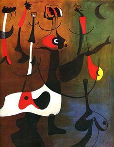 Rhythmic Characters - Joan Miro