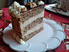 Moja prvá vianočná orechová torta (fotorecept)