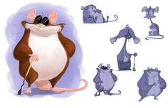 Justin Rodrigues - Character Design Page