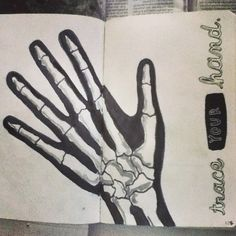 pages 126/127: Trace your hand
