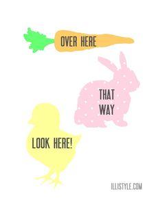 Easter Egg Hunt Printables Easter Egg Hunt Printable Signs