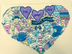 www.zipadeedoodle... #personalised #memory #doodles designed to make you #smile...promise :-) #handmade #illustrations