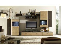 Salon Faro en #bois Tv Units, Decoration, Flat Screen, Furniture, Home Decor, Wood Furniture, Solid Wood, Living Room, Modern
