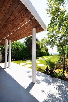 Πατητη τσιμεντοκονια / Lava finish by www.evomat.com Lava, Pergola, Outdoor Structures, Outdoor Pergola, Pallet