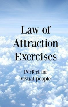 Law of Attraction Exercises for Visual learners and communicators These law of attraction exercises can be used by anyone but are ideally suited for visual learners. 10 law of attraction exercises for visual learners Manifestation Law Of Attraction, Law Of Attraction Affirmations, Secret Law Of Attraction, Law Of Attraction Quotes, Affirmations Success, Prosperity Affirmations, Law Of Attraction Meditation, Power Of Attraction, Law Of Attraction Coaching