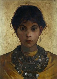 Marianne Preindelsberger Stokes- A Capri Witch 1884-5