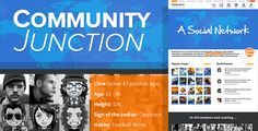 CommunityJunction is a theme integrated with BuddyPress & bbPress which lets users register on your site and start creating profiles, posting messages, making connections, creating and interacting ...
