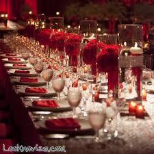 Resultado de imagen para decoracion de bodas en rojo y blanco