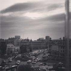 Bucharest, New York Skyline, Black And White, Travel, Viajes, Black N White, Black White, Destinations, Traveling