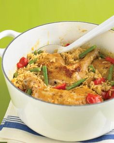 Spicy Coconut Chicken Casserole