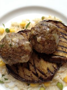 Grilled eggplant with meatballs @ Fitness, Food and Style: June 2012