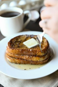 Sourdough French Toast - great combination of sweet and sour!