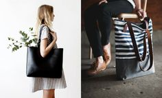 Como usar bolsa tipo sacola : Veja mais no - taofeminino