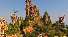Medieval Castle and Village | Minecraft Building Inc